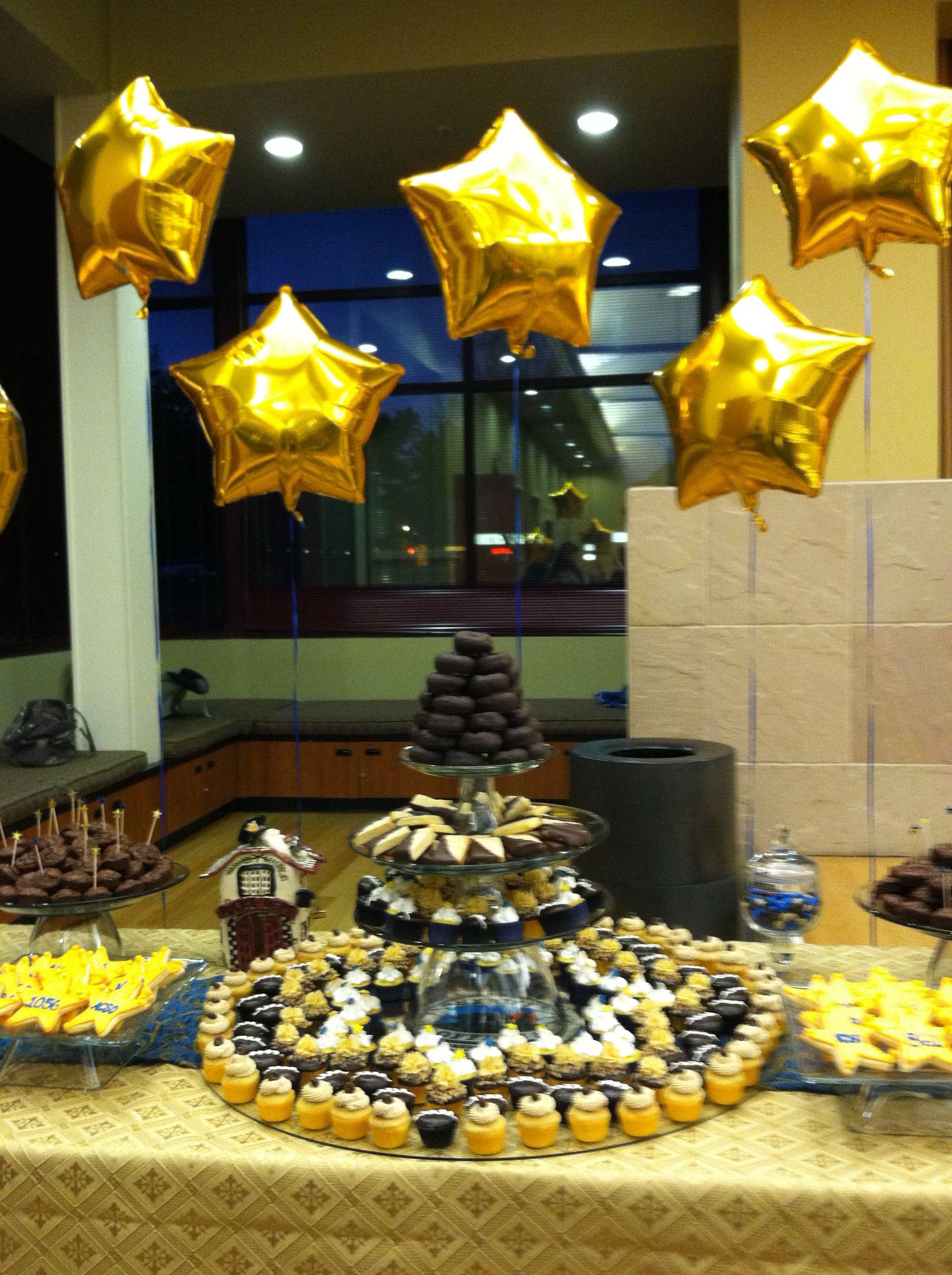 Decoration Ideas For Retirement Party  Retirement Party Cupcake Celebrations