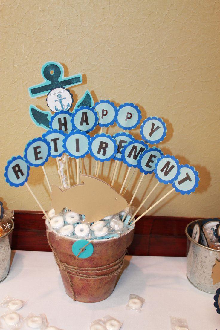 Decoration Ideas For Retirement Party  Best 20 Retirement party centerpieces ideas on Pinterest