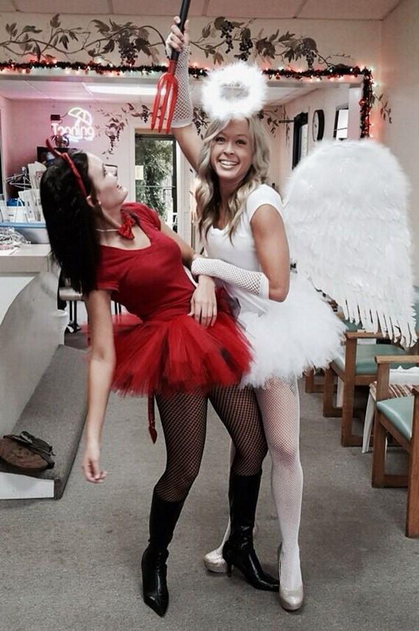 Devil Costume DIY  45 Inspirational Best Friend Costume Ideas for Halloween