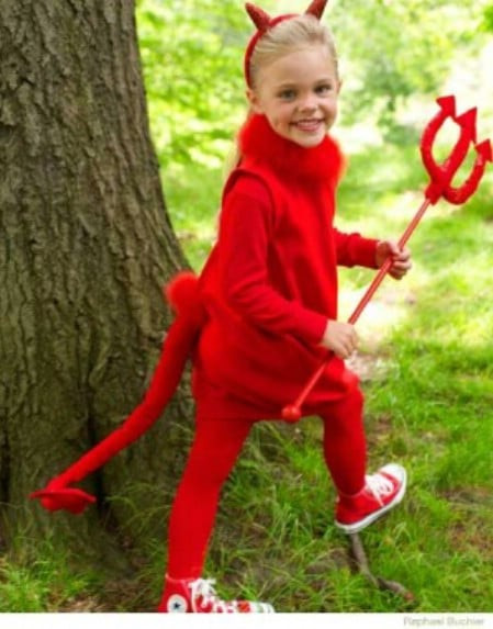 Devil Costume DIY  60 Fun and Easy DIY Halloween Costumes Your Kids Will Love