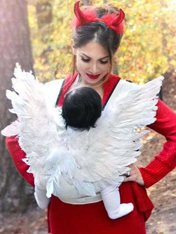 Devil Costume DIY  25 DIY Family Halloween Costumes That Are Cheap to Make