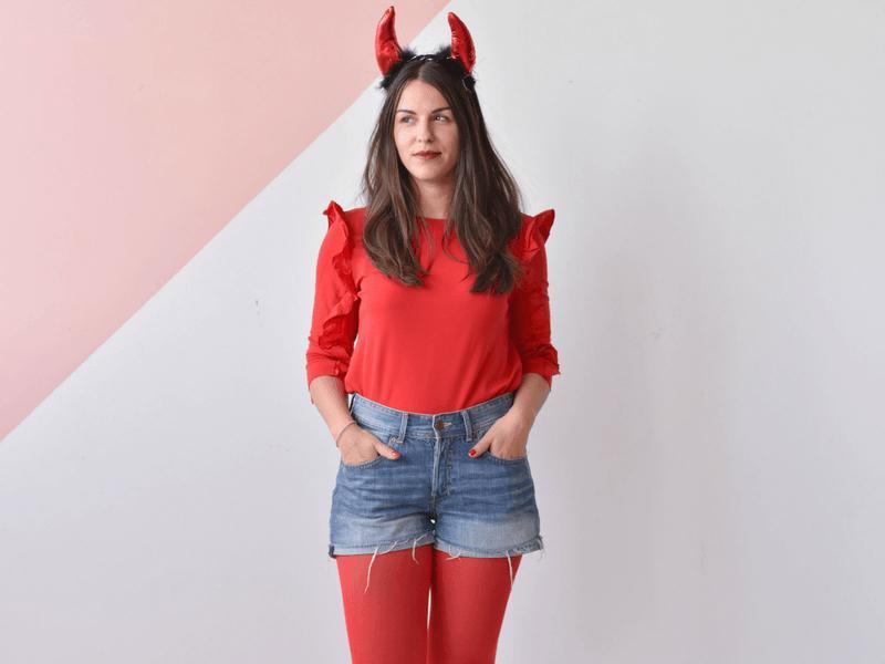 Devil Costume DIY  DIY Halloween Costume Ideas Devil – From Rachel