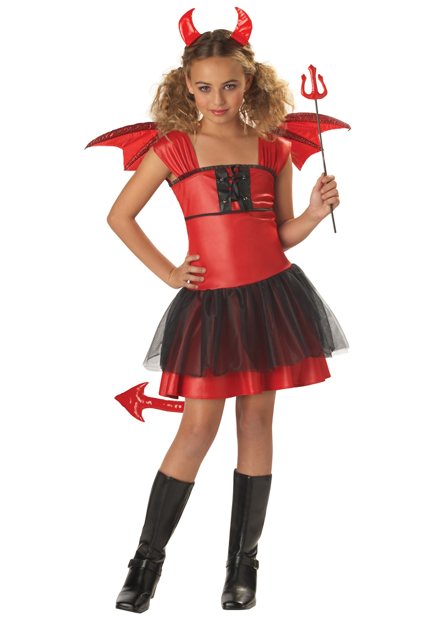 Devil Costume DIY  Girls Darling Devil Costume Devil Halloween Costumes for