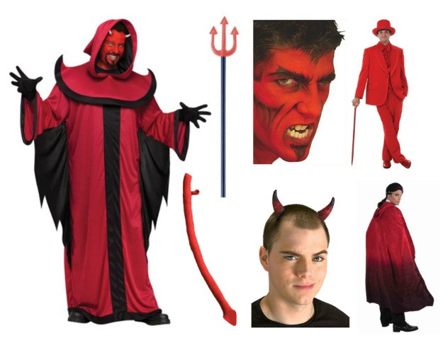 Devil Costume DIY  Costume Ideas for Dudes with Beards The Ultimate Resource