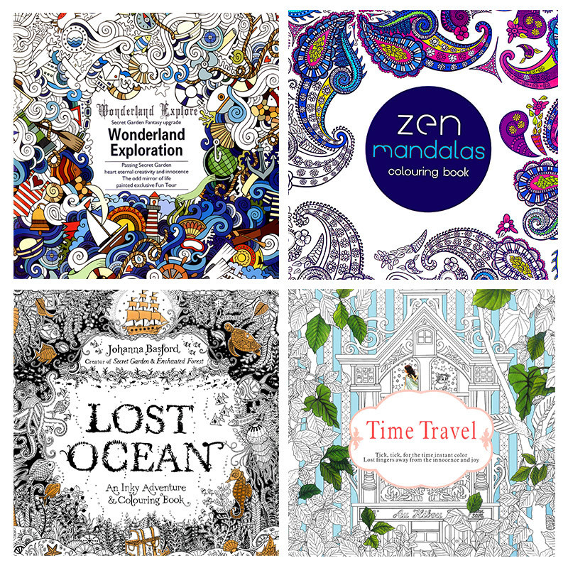 Discount Adult Coloring Books  line Get Cheap Adult Coloring Books Aliexpress