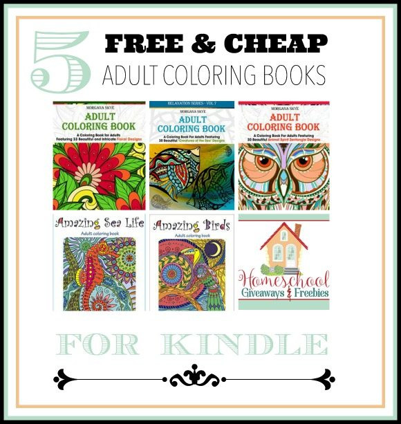 Discount Adult Coloring Books  FREE & Cheap Adult Coloring Books for KINDLE