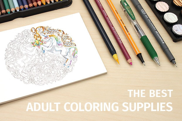 Discount Adult Coloring Books  Guide to Adult Coloring Supplies JetPens
