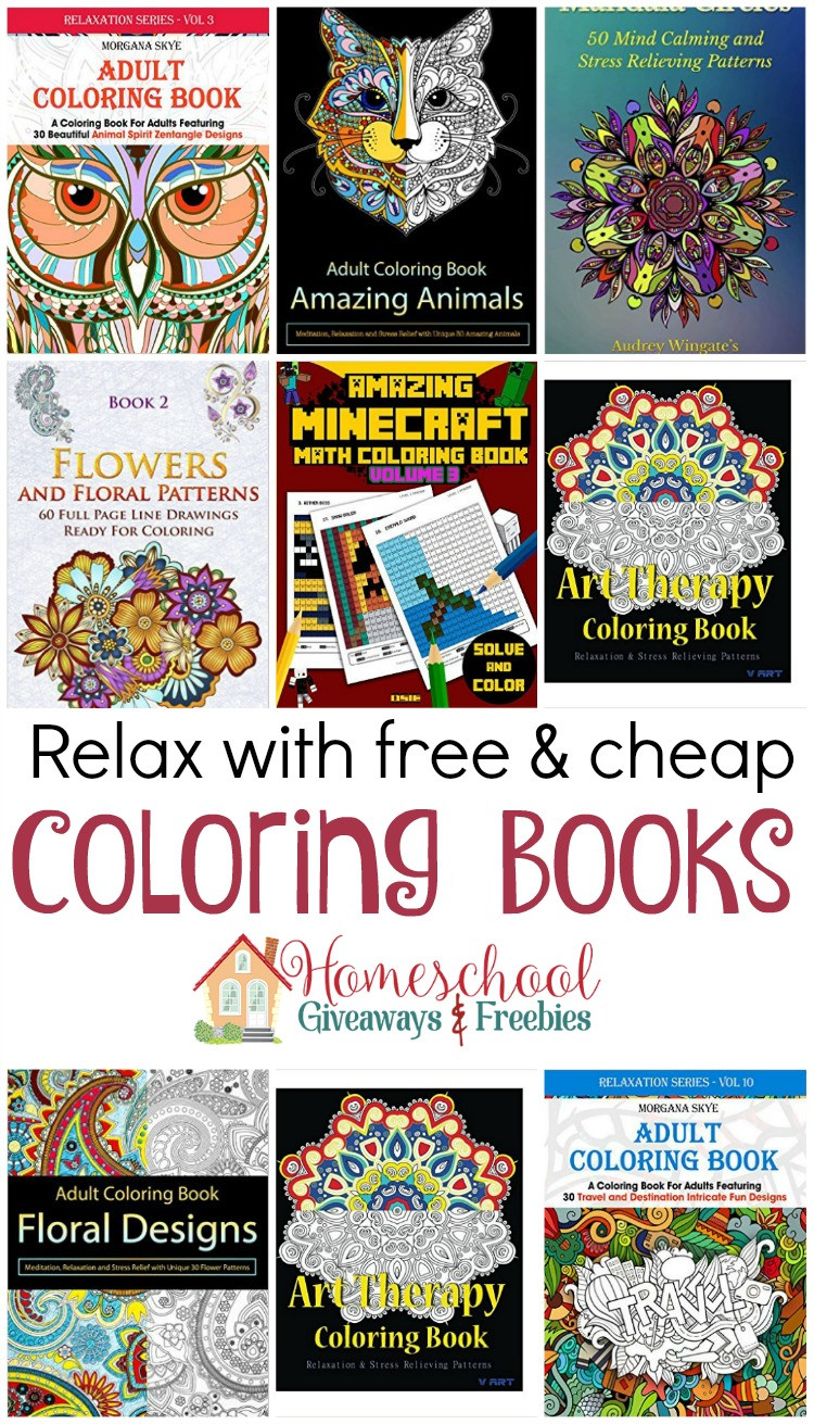 Discount Adult Coloring Books  Free and Cheap Kindle Coloring Books
