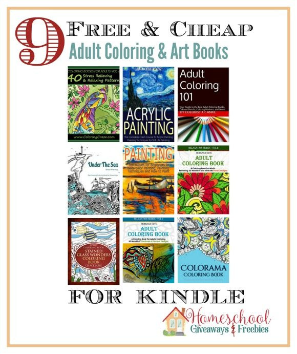 Discount Adult Coloring Books  More FREE and Cheap Adult Coloring Books for Kindle