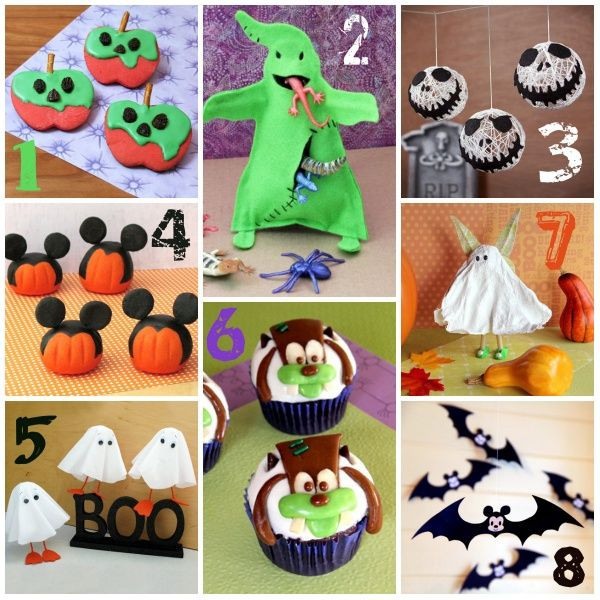 Disney Halloween Party Ideas  Disney Halloween Craft and Recipe Ideas from Spoonful