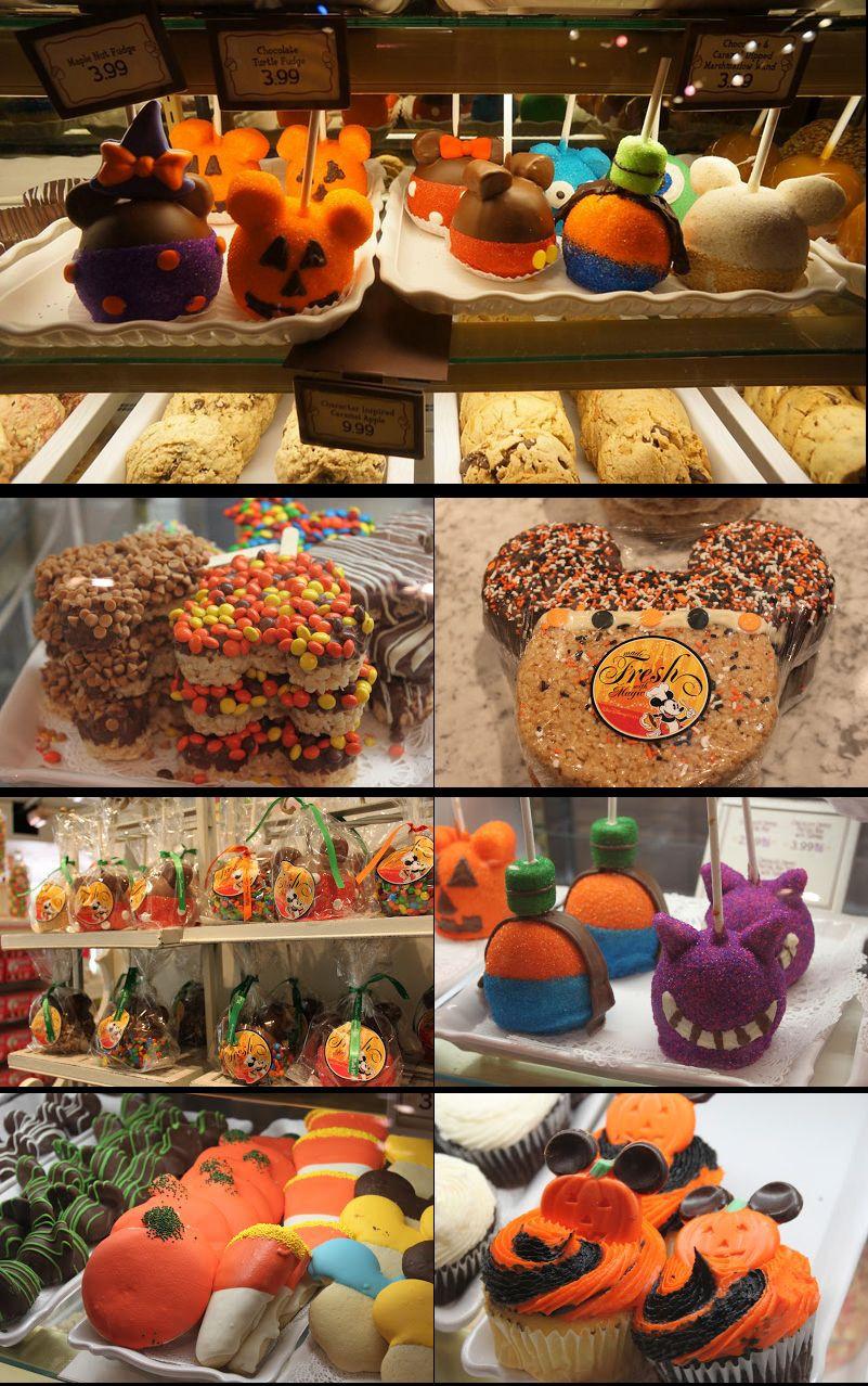 Disney Halloween Party Ideas  Mickey Mouse Halloween Treats sold at the Disney theme