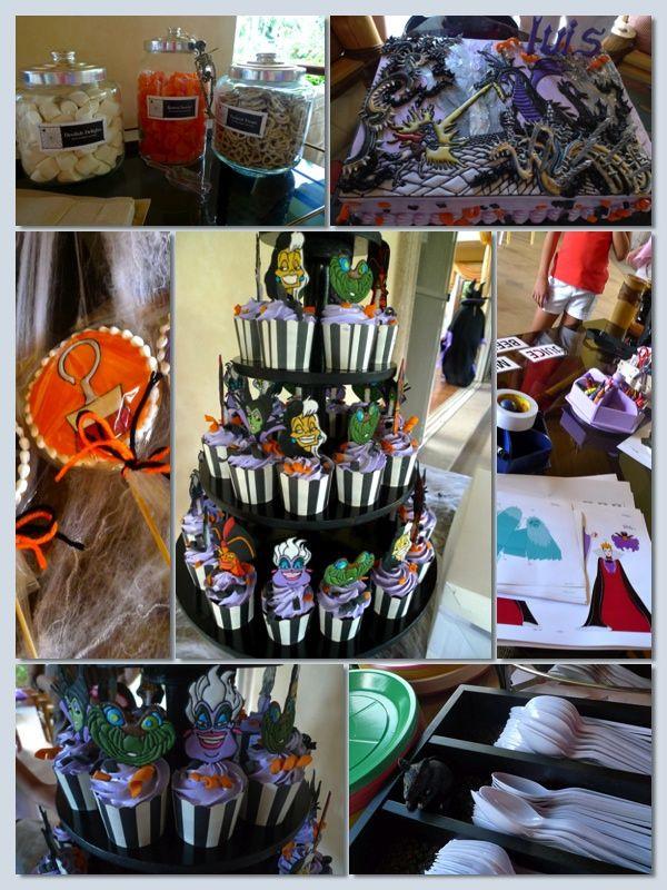 Disney Halloween Party Ideas  disney villain parties Google Search