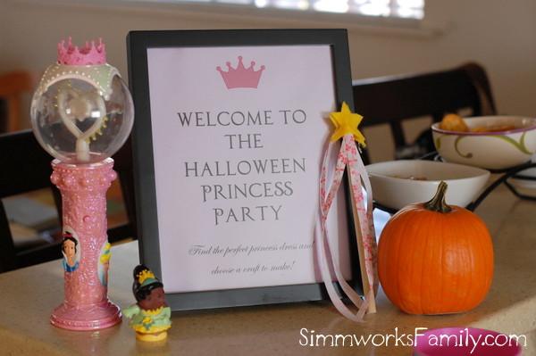 Disney Halloween Party Ideas  Simple Ideas for a Magical Disney Princess Halloween Party
