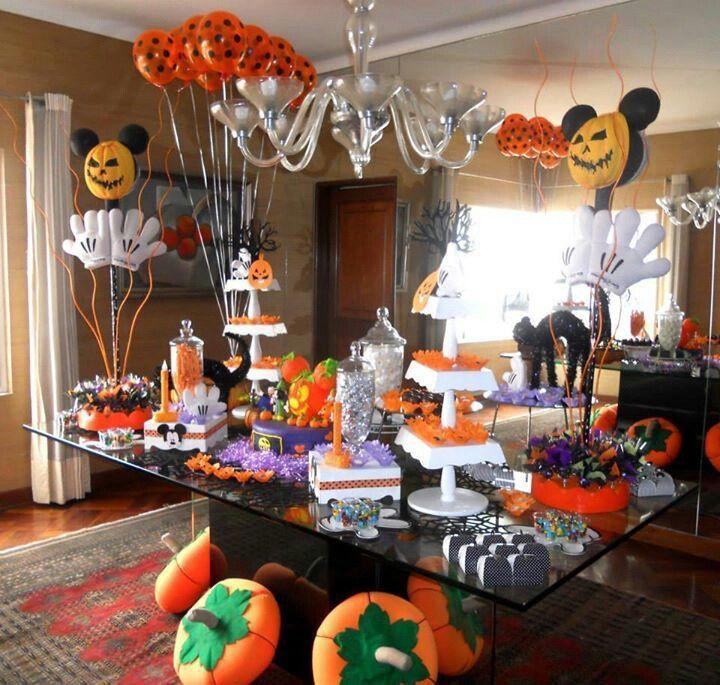 Disney Halloween Party Ideas  17 best Mickey Mouse Halloween images on Pinterest