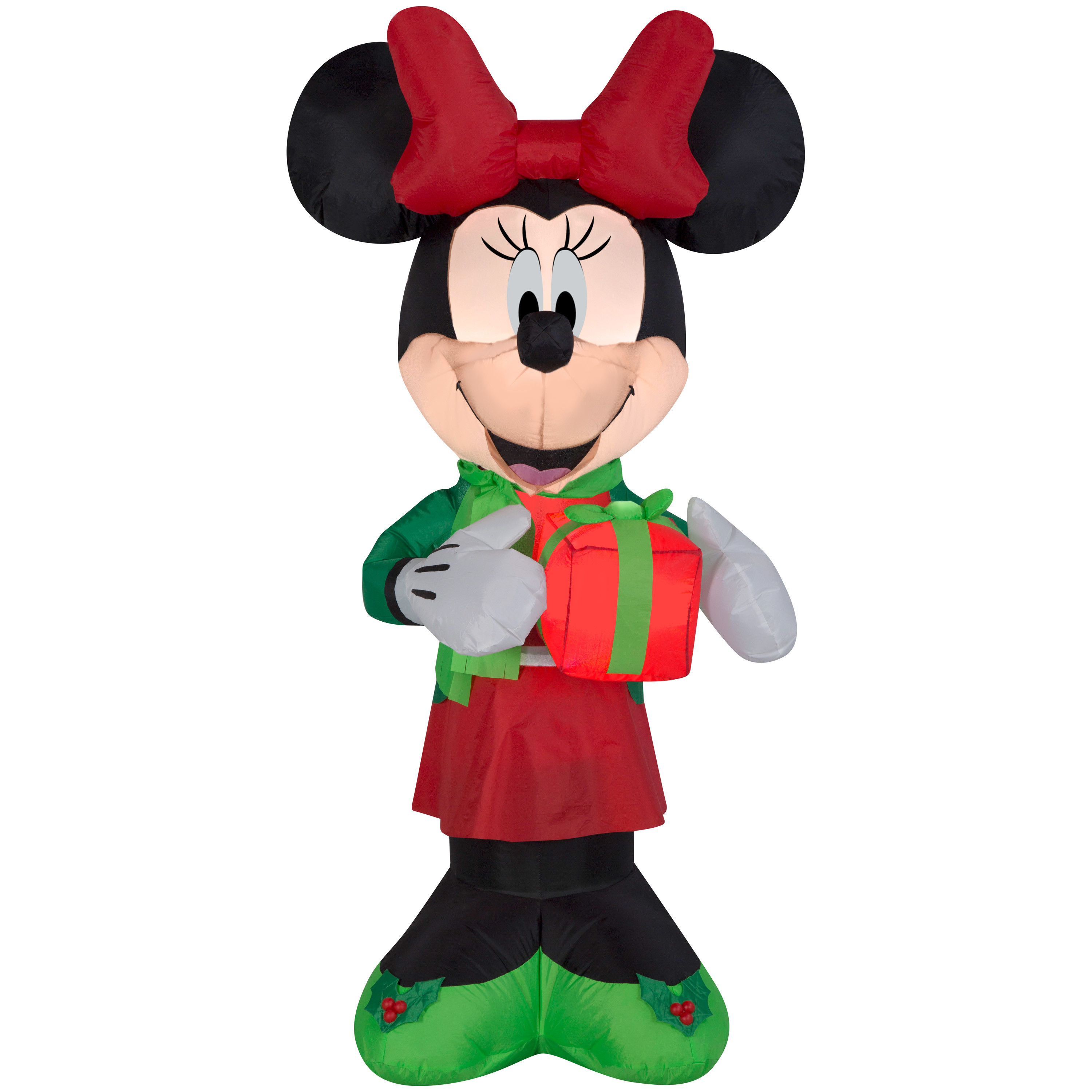 Disney Outdoor Christmas Decorations  Awesome Christmas Inflatable Minnie Mouse Disney