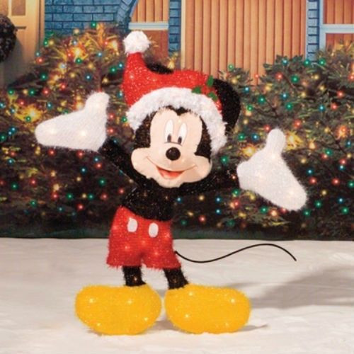 Disney Outdoor Christmas Decorations  10 reasons to Install Mickey Mouse Christmas Lights