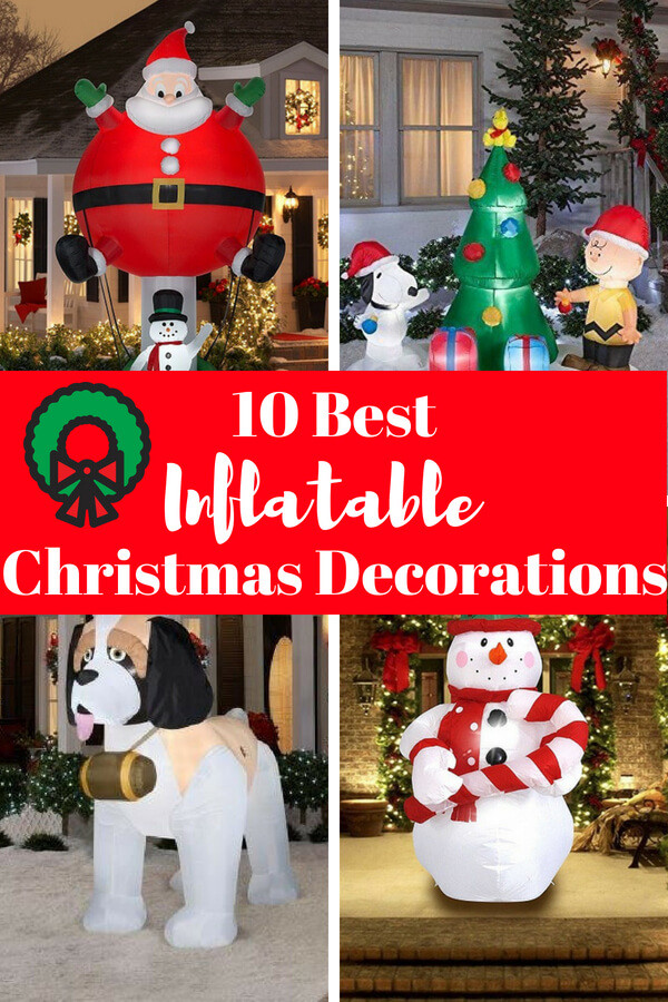 Disney Outdoor Christmas Decorations  Top 12 Inflatable Outdoor Christmas Decorations 2019