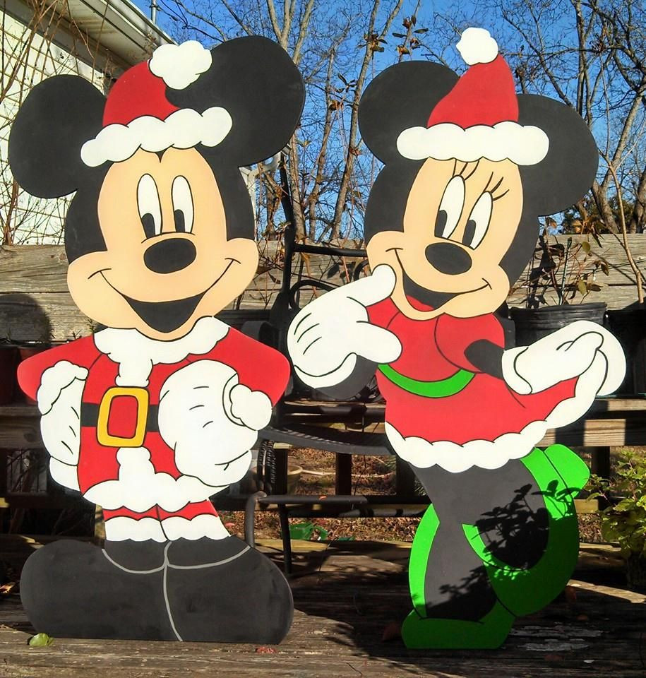 """Disney Outdoor Christmas Decorations  48"""" Snow Miser and Heat Miser Miser Brothers Christmas"""