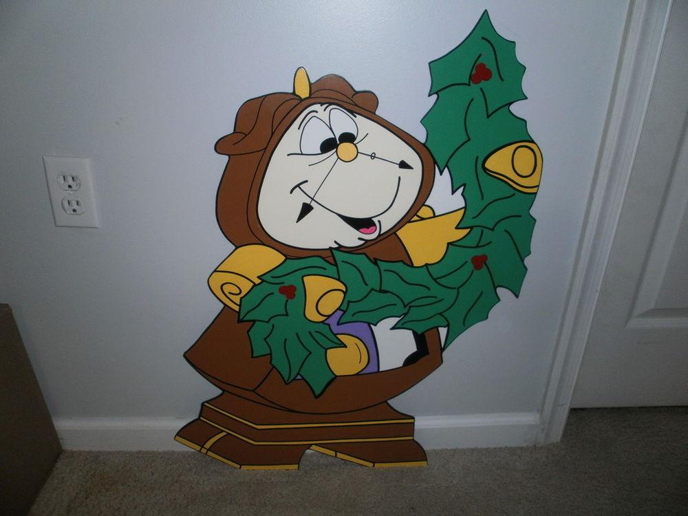 Disney Outdoor Christmas Decorations  COGSWORTH DISNEY CHRISTMAS YARD ART DECORATION