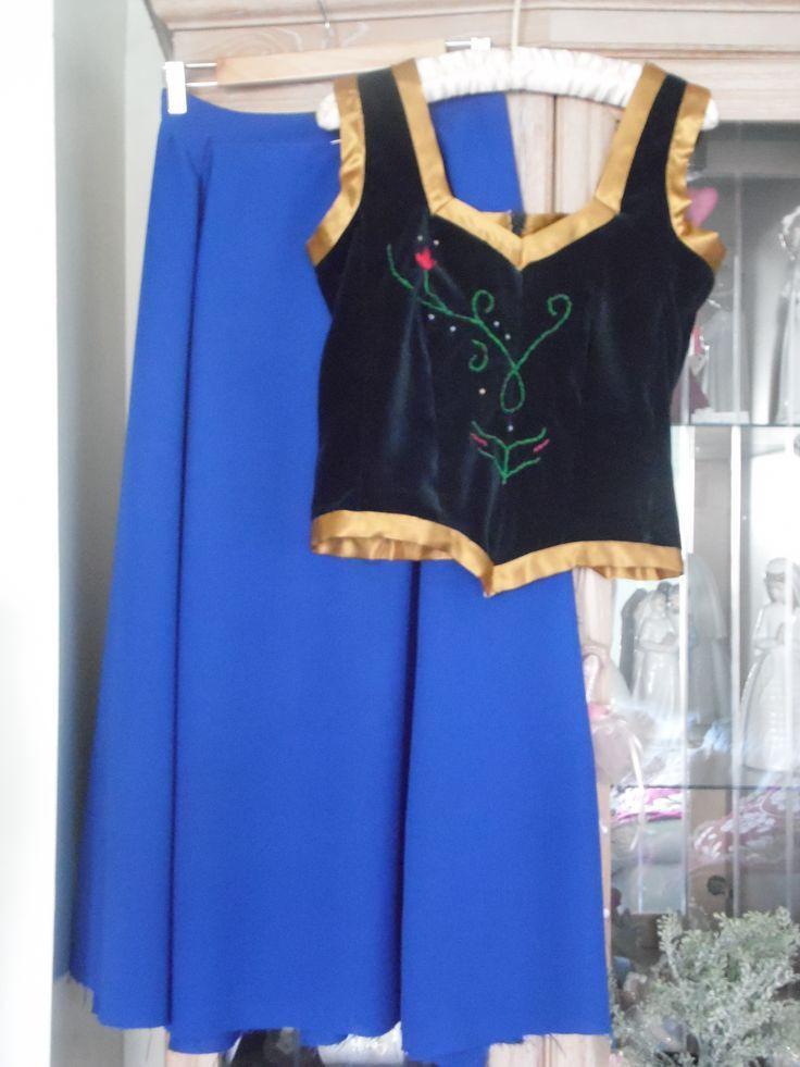 DIY Anna Costumes  Anna Princess Dress Inspiration happilygrim