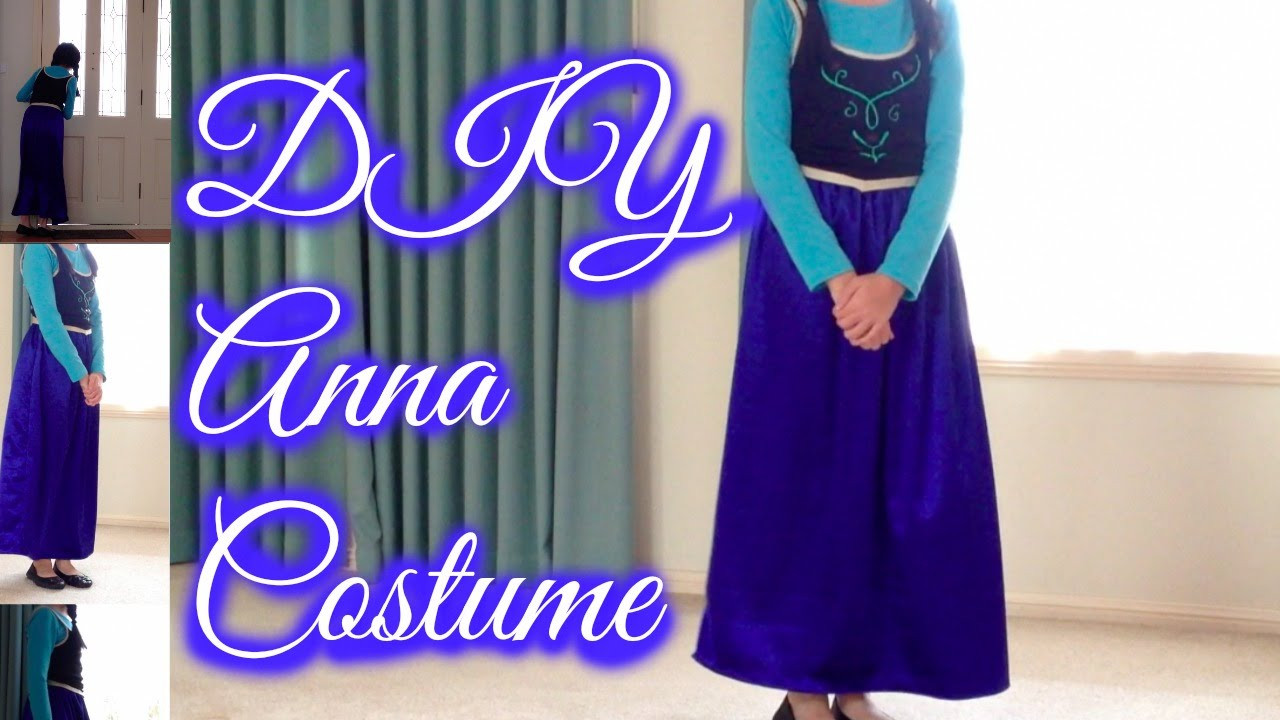 DIY Anna Costumes  DIY Anna Frozen Costume