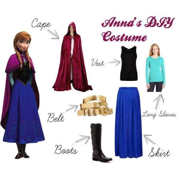 DIY Anna Costumes  homemade anna costume Google Search Disney