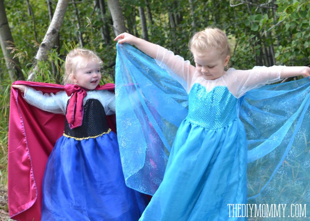 DIY Anna Costumes  Sew an Anna Inspired Frozen Snow Princess Dress