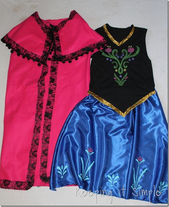 DIY Anna Costumes  Keeping it Simple Disney Frozen Halloween Costume DIY
