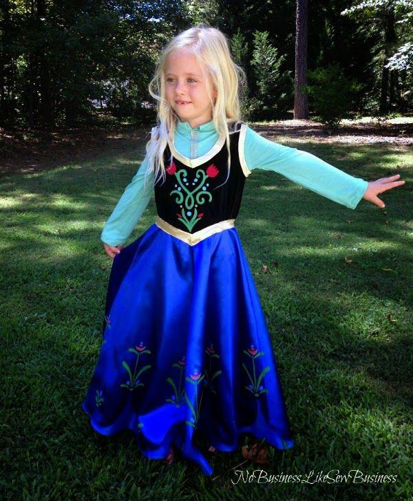 DIY Anna Costumes  No Business Like Sew Business Princess Anna Costume