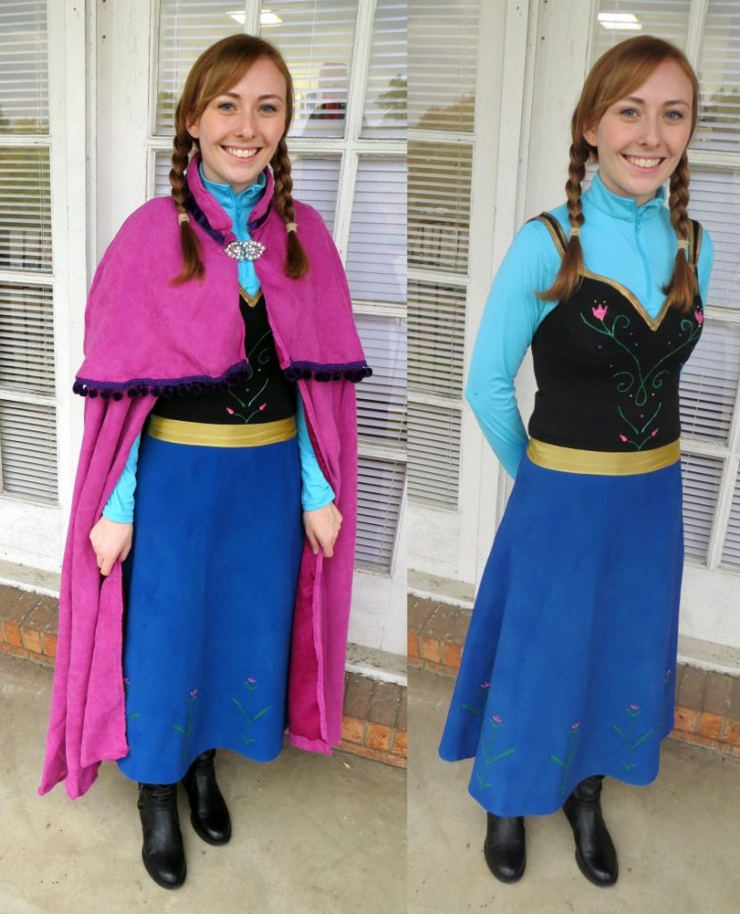 DIY Anna Costumes  Googles Top 10 Costume Trends Are Mostly Frozen