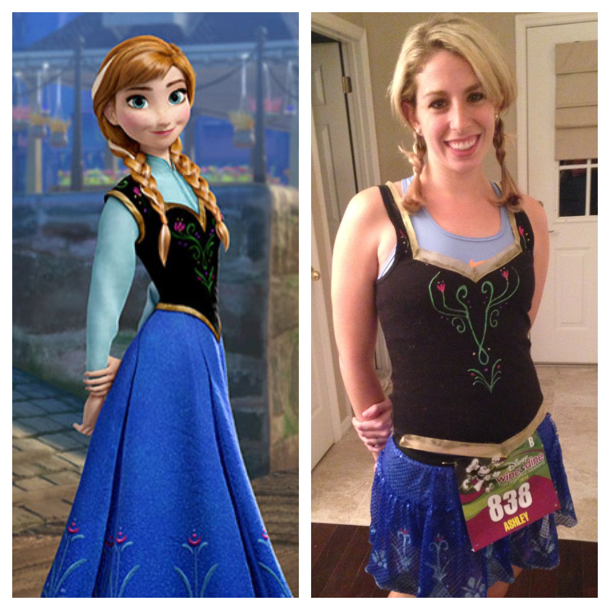 DIY Anna Costumes  HOW TO Creating My Anna from Frozen Costume – Why Hello