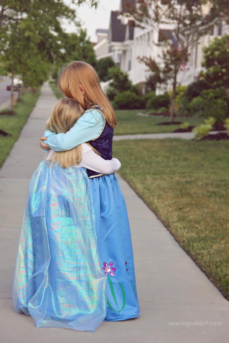 DIY Anna Costumes  Elsa Costume DIY The Sewing Rabbit