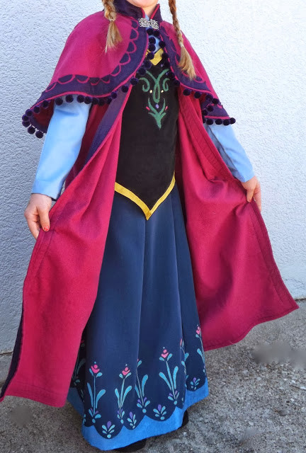 DIY Anna Costumes  15 Awesome DIY Princess Anna Costume Tutorials for Little