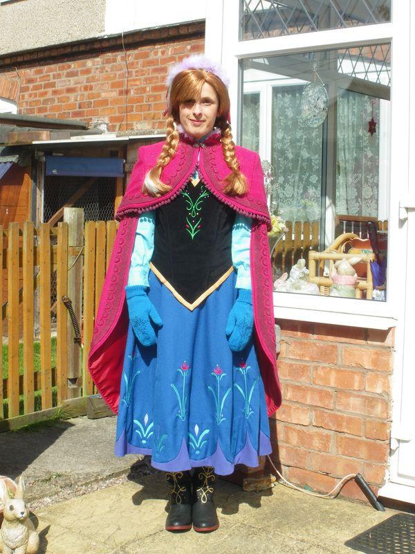 DIY Anna Costumes  50 best DIY Disney Frozen Anna Costume Ideas images on