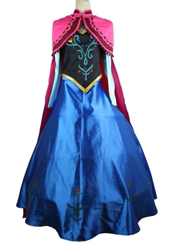 DIY Anna Costumes  How To DIY Princess Anna Costume & Makeup from Disney s