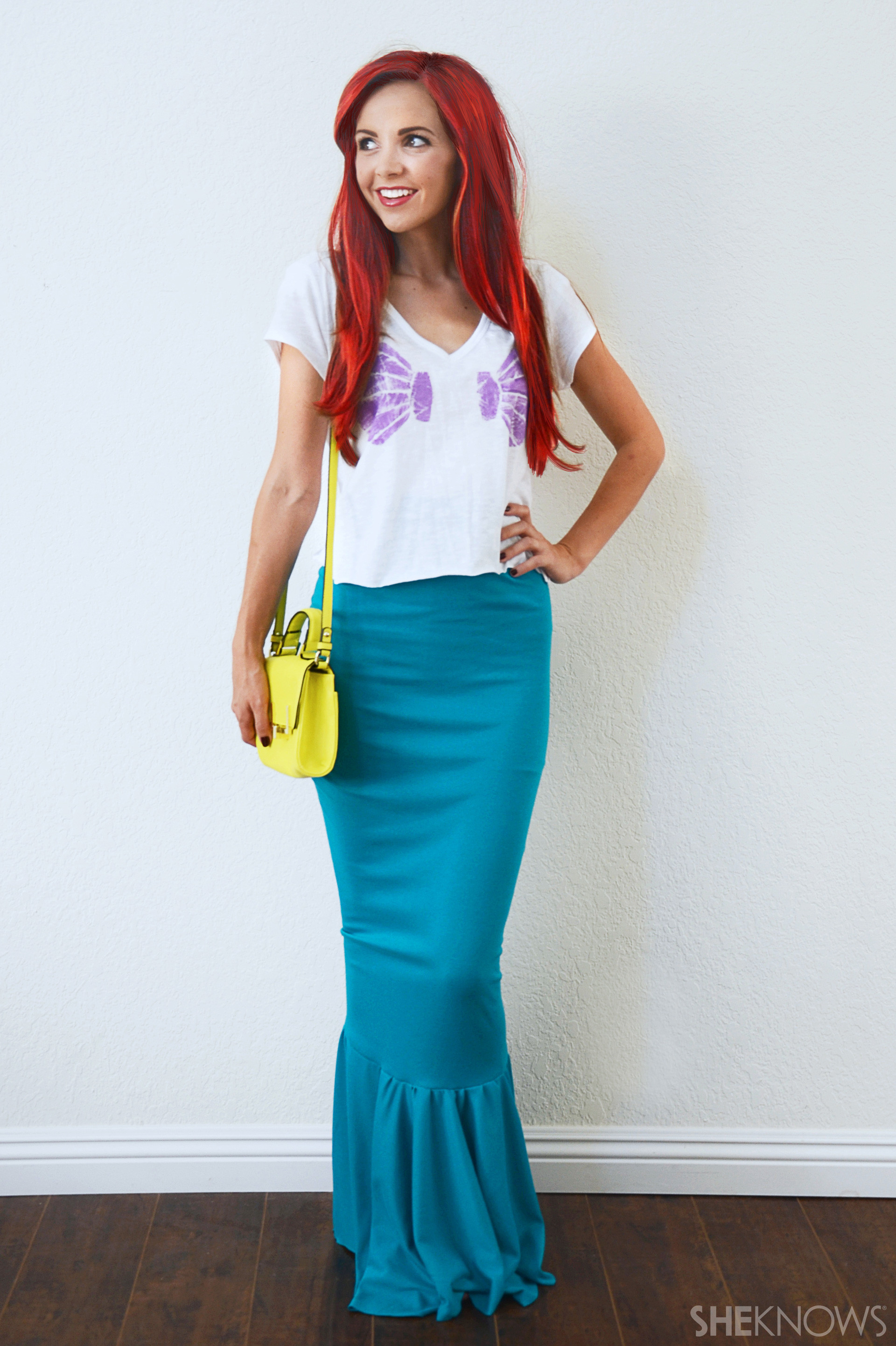 DIY Ariel Costume  Gorgeous Disney princess costumes you can make with basic