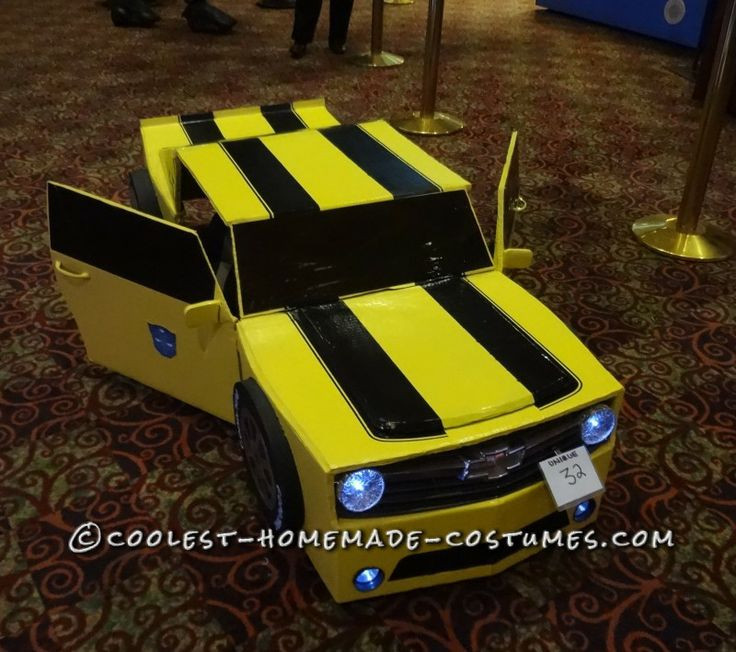 DIY Bumblebee Transformer Costume  117 Best images about Transformer Costume Ideas on