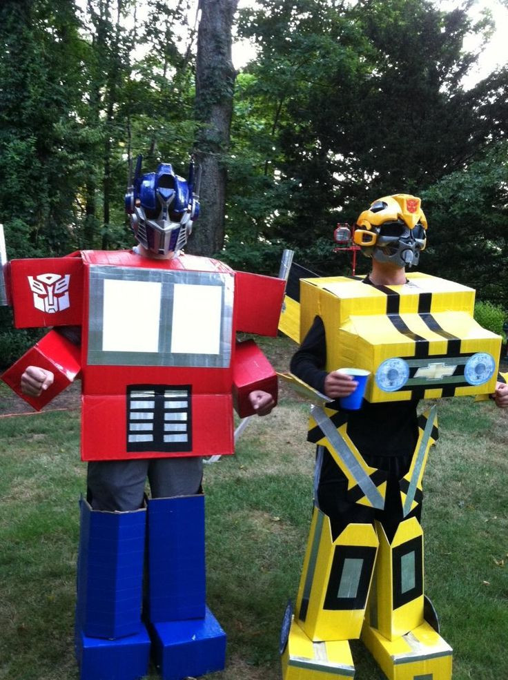 DIY Bumblebee Transformer Costume  18 pop culture inspired Halloween costumes for BFFs
