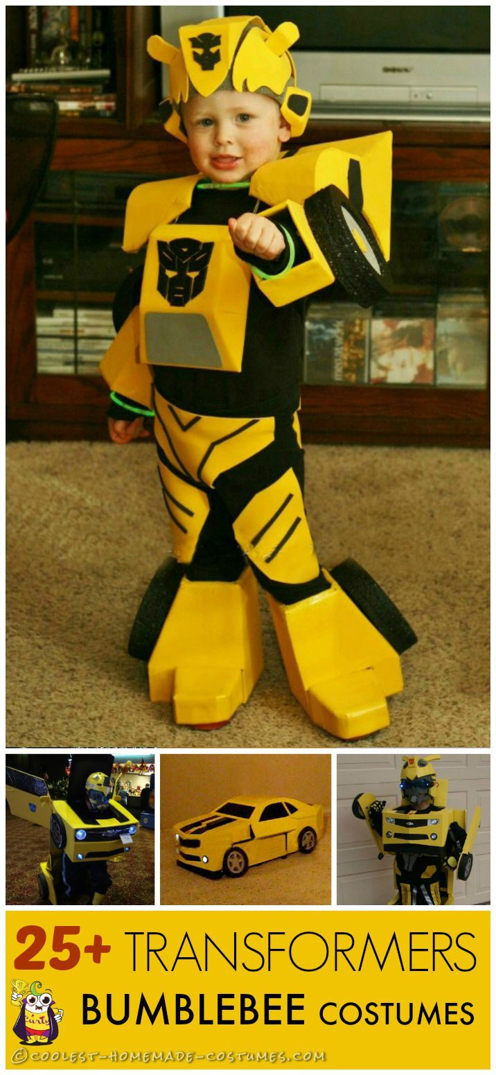 DIY Bumblebee Transformer Costume  Best 25 Homemade costumes ideas on Pinterest