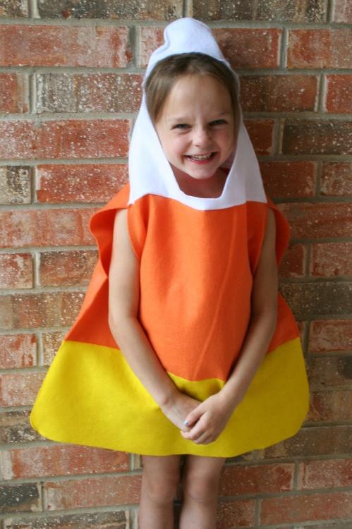 DIY Candy Costume  29 DIY Kid Halloween Costume Ideas C R A F T