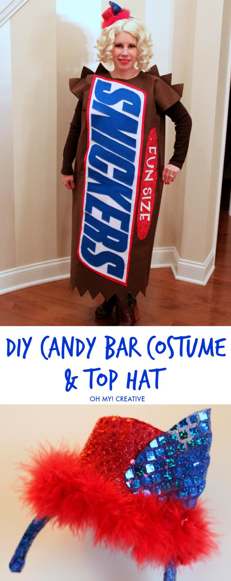 DIY Candy Costume  DIY Candy Bar Halloween Costumes Oh My Creative