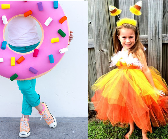 DIY Candy Costume  DIY Easy to Make Last Minute Costume Ideas for Kids