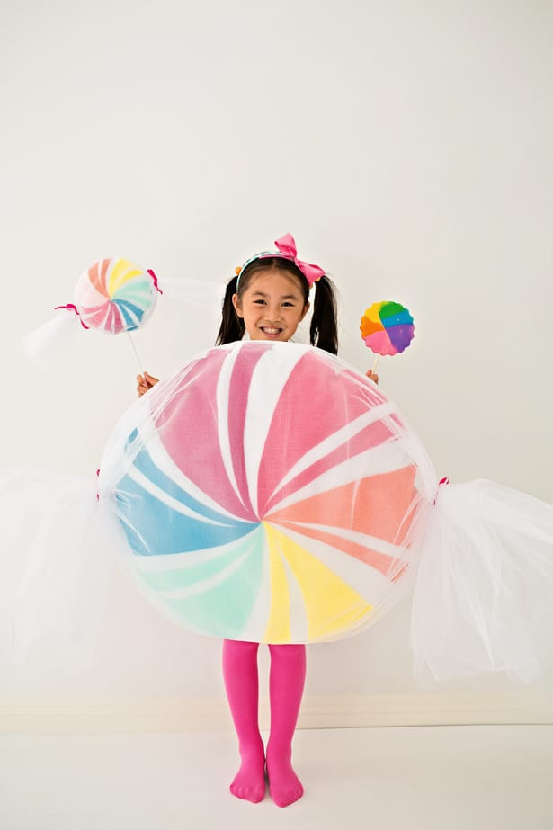 DIY Candy Costume  DIY NO SEW FELT CANDY COSTUME FOR KIDS
