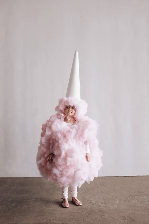 DIY Candy Costume  hello Wonderful AMAZING DIY COTTON CANDY COSTUME FOR KIDS