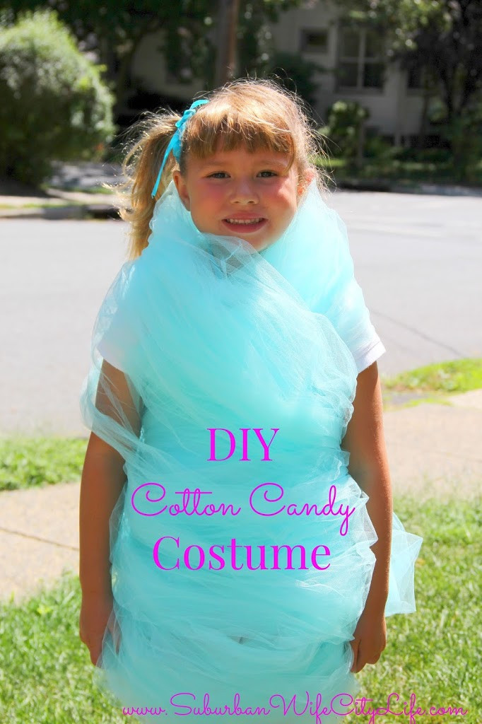 DIY Candy Costume  DIY Cotton Candy Costume Suburban Wife City Life