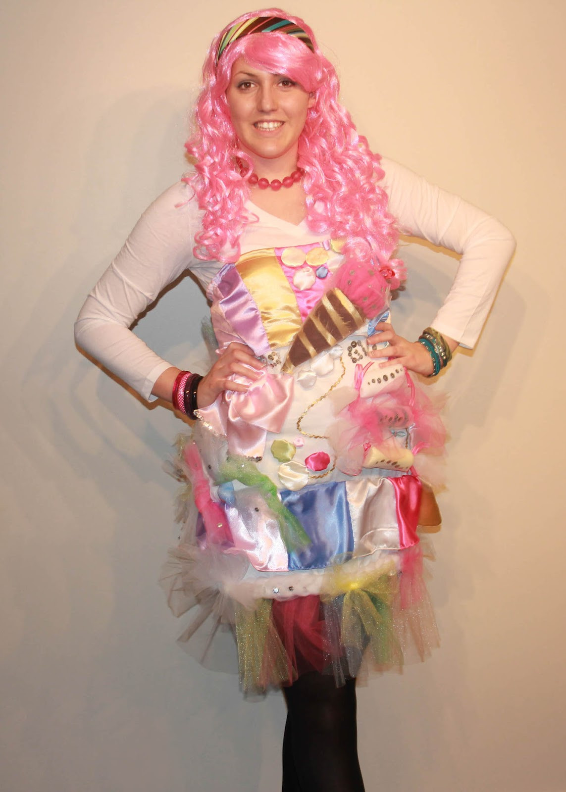 DIY Candy Costume  SunLight and Sequins DIY Katy Perry Inspired Candy Land