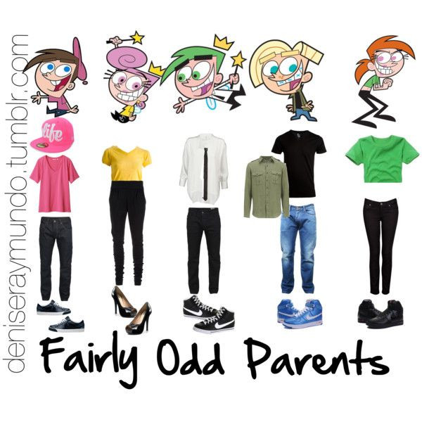 DIY Cartoon Costumes  Fairly Odd Parents the artful parent