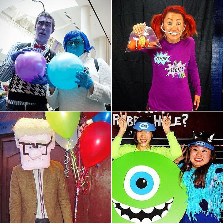 DIY Cartoon Costumes  DIY Pixar Costumes