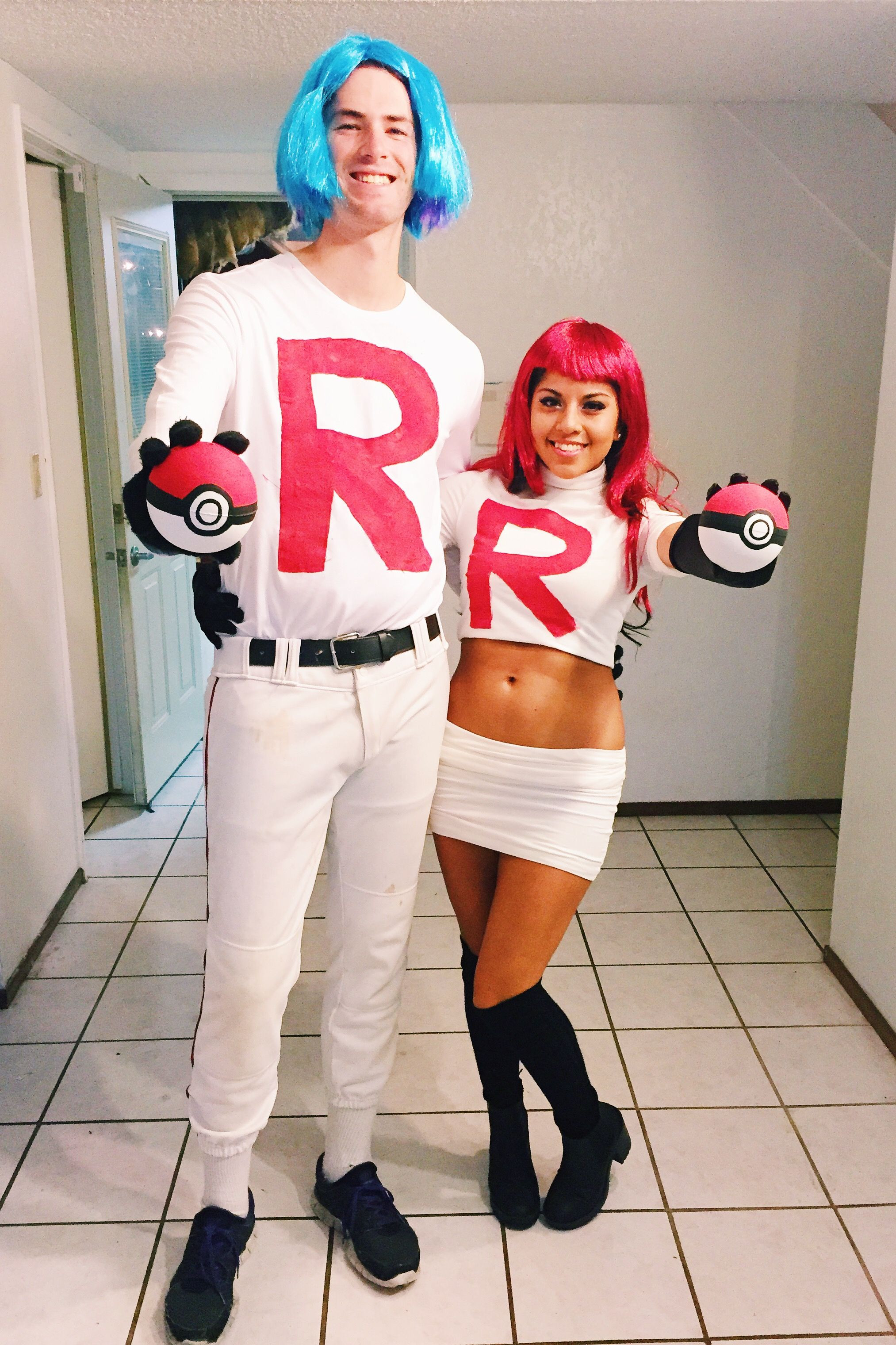 DIY Cartoon Costumes  Team Rocket DIY costume Halloween costumes