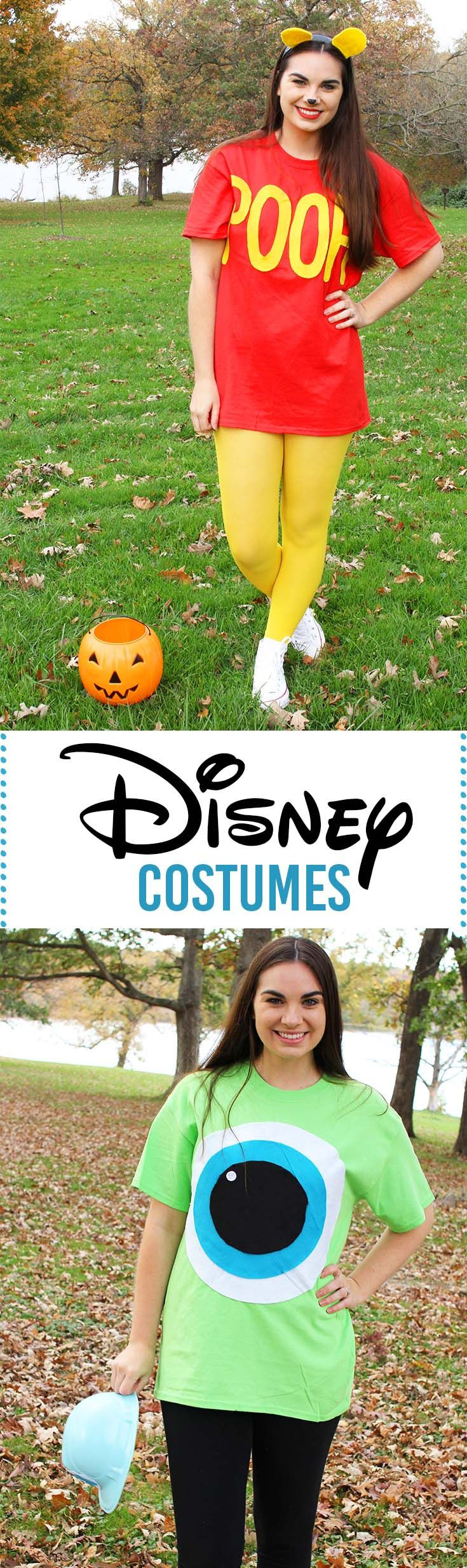 DIY Cartoon Costumes  25 bästa idéerna om Easy disney costumes på Pinterest